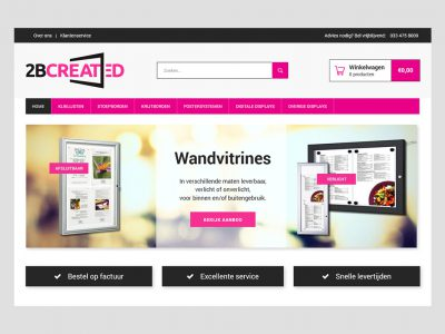 Website 2Bcreated