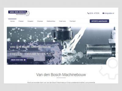 Van den Bosch Machinebouw